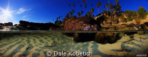 Panorama double wide half above half below image experime... by Dale Kobetich 